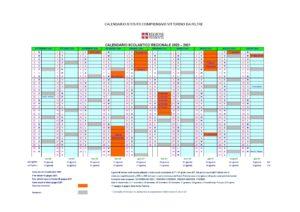 Calendario Scolastico Vittorino da Feltre a.s. 2020-21